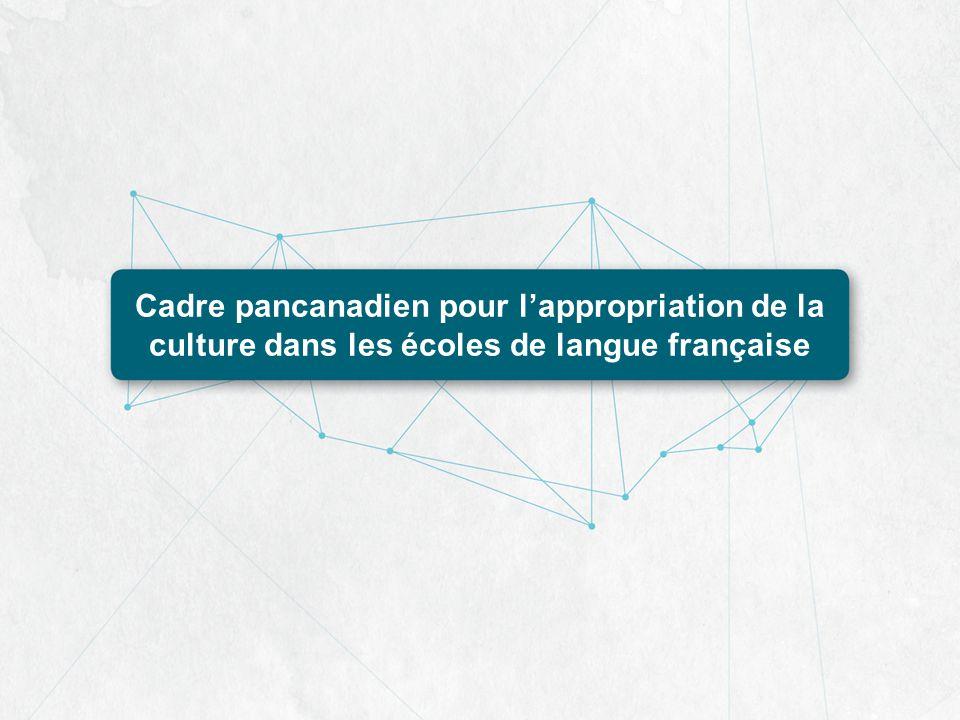 Cadre pancanadien pour lappropriation de la culture dans les écoles de langue française