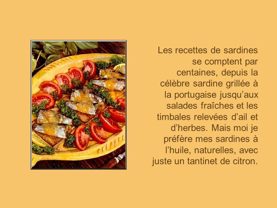 Hé oui! Pourquoi pas? Un sandwiche à la sardine! Avec des tomates et des oignons, cest délicieux et très nourrissant!