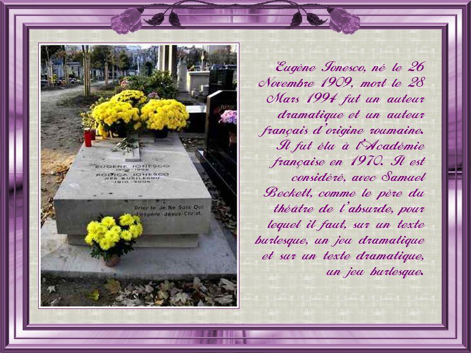 César Baldaccini, dit César, né le 1 er Janvier 1921, mort le 6 Décembre 1998 fut un sculpteur français.