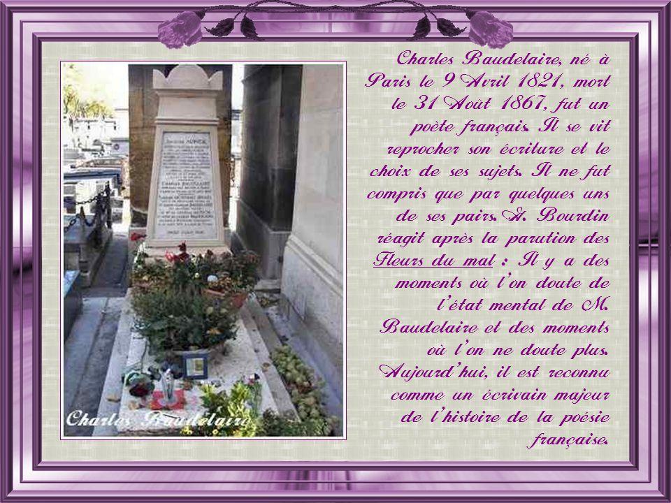 Le cénotaphe de Baudelaire Quest-ce un cénotaphe .