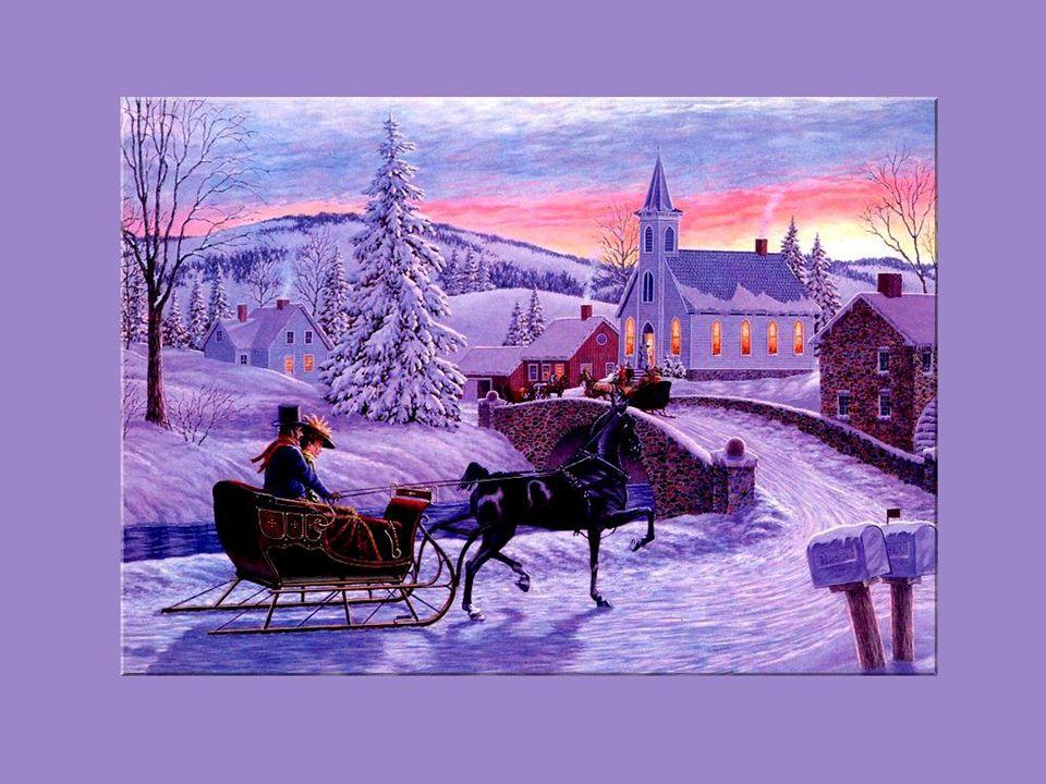 Jaime à me souvenir de ces doux Noëls dautrefois alors que la messe de minuit était le rendez-vous de tout le quartier et de tout le village.