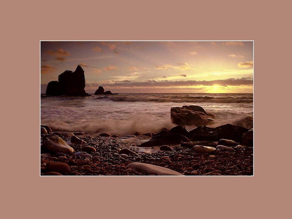 La mer! Sa seule beauté attire, retient le regard et donne l'impression d'une étendue intouchée de commencement du monde, d'une puissance qui dépasse