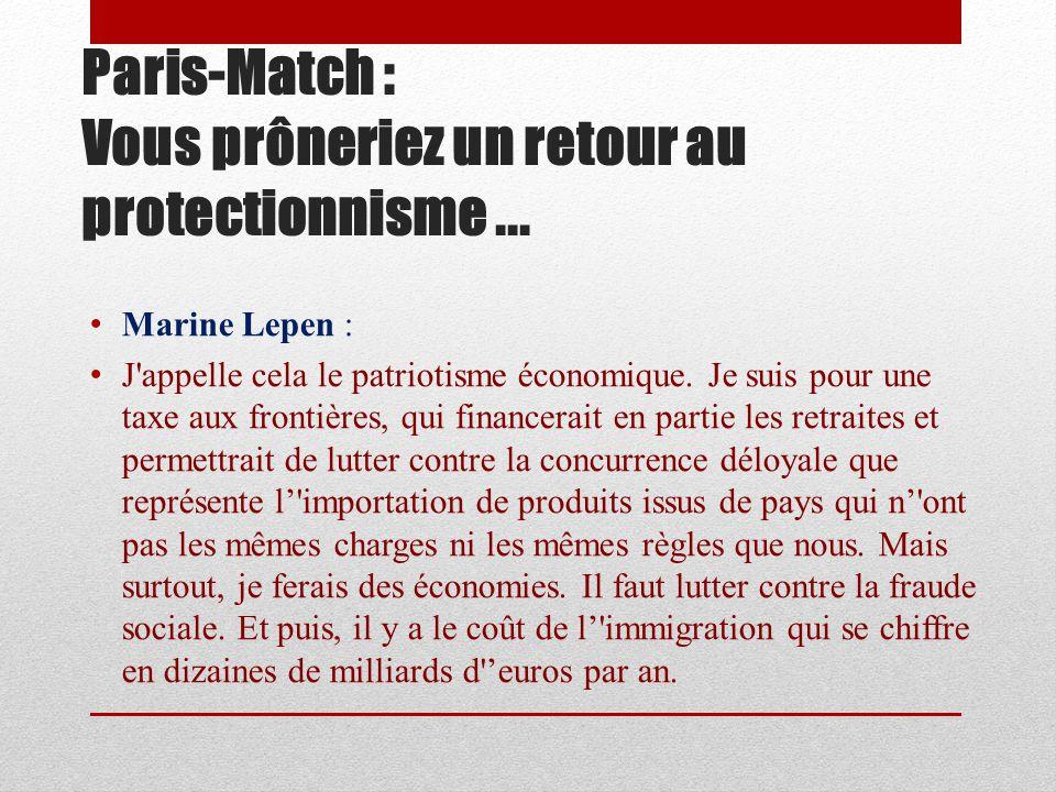 Paris-Match : François Fillon a récemment inauguré une mosquée à Argenteuil.
