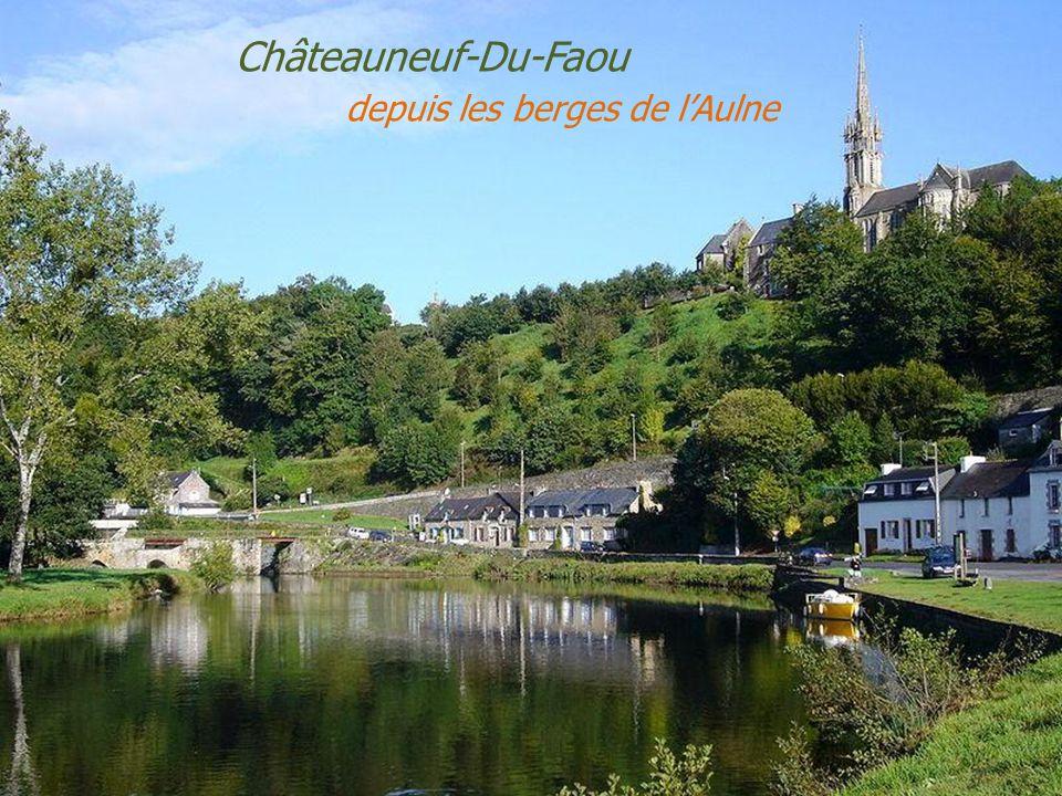 Châteaulin la ville traversée par lAulne