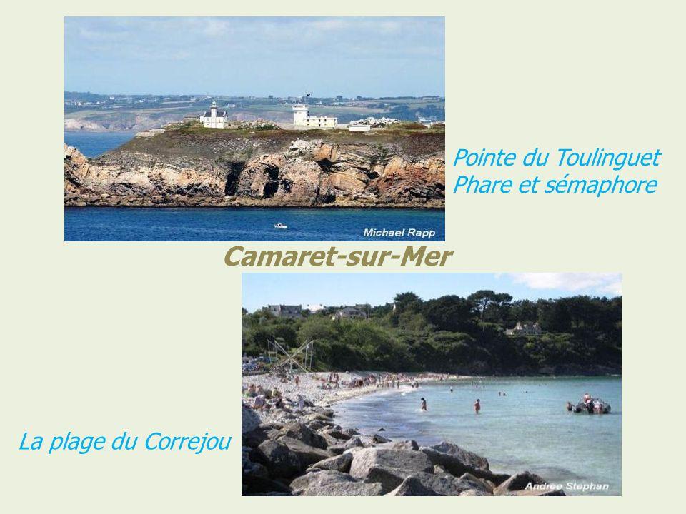 Camaret-sur-Mer La tour Vauban Pointe de Penhir, le tas de Pois