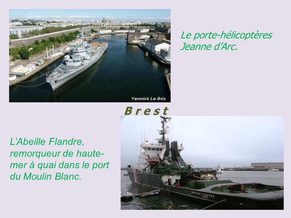 Brest panorama sur la ville