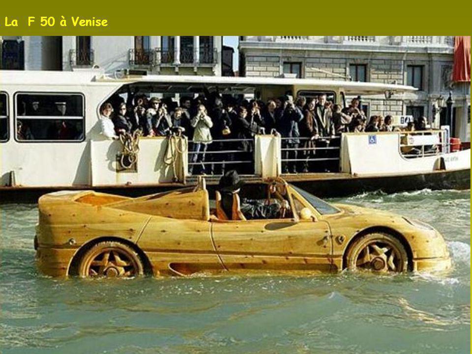 La F 50 à Venise