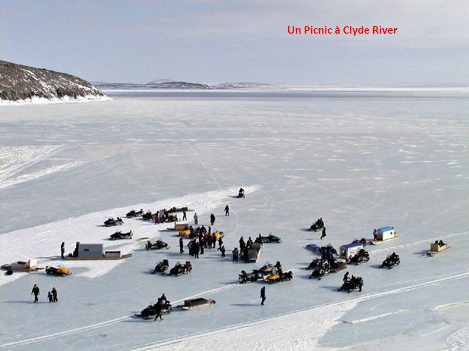Paysage typique du Nunavut – Aucun arbre ne pousse dans cette région