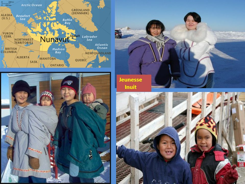 Dun jour à lautre le climat change drastiquement au Nunavut.