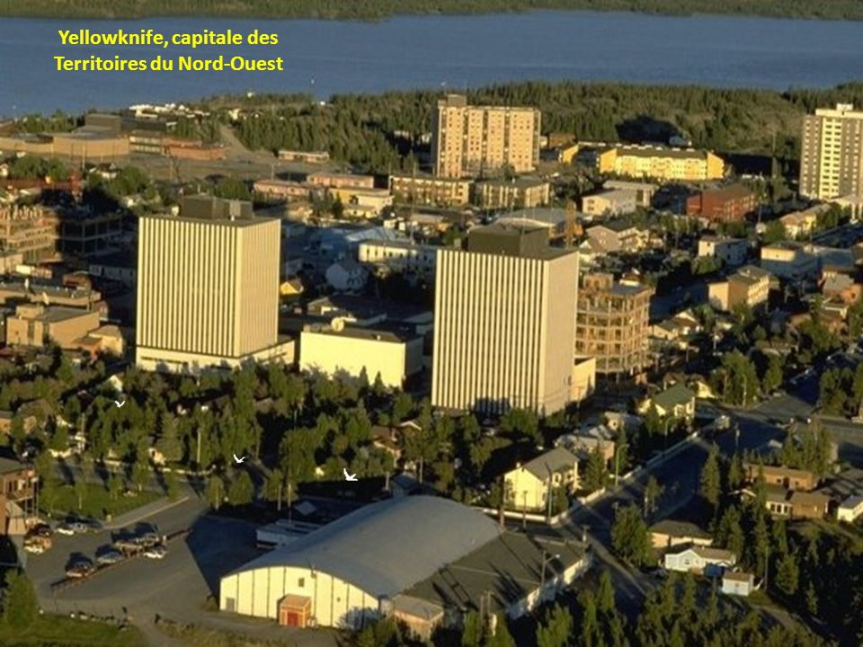 Yellowknife, capitale des Territoires du Nord-Ouest
