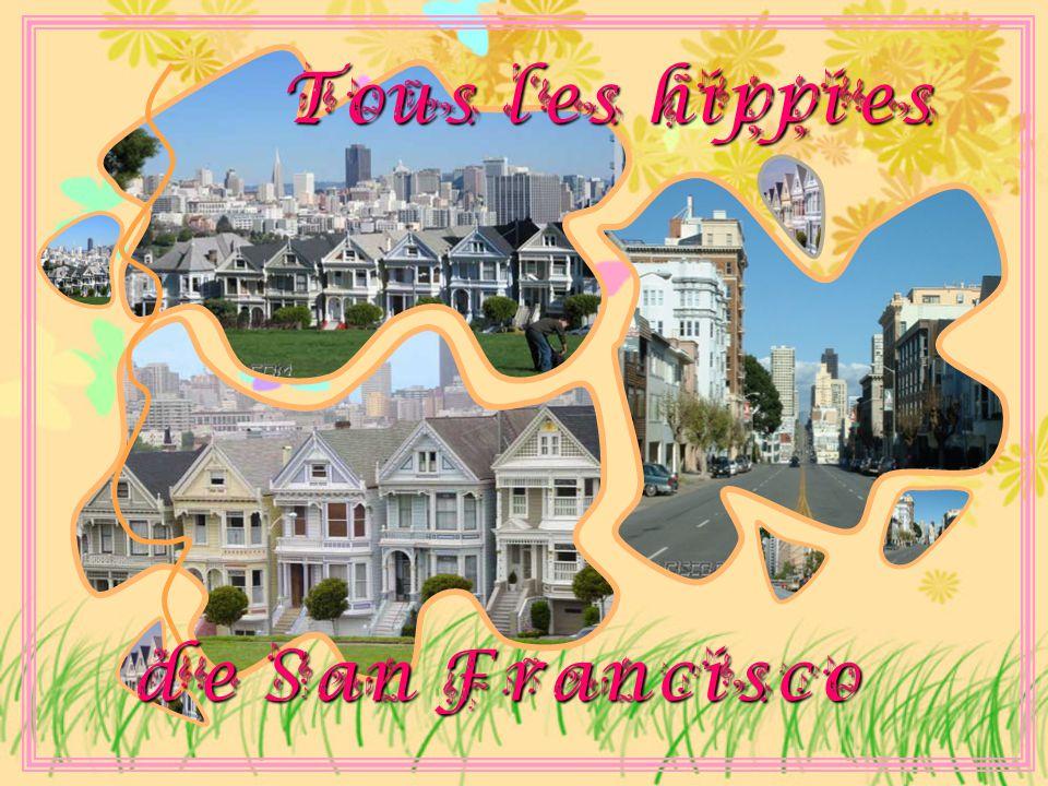 Tous les hippies de San Francisco