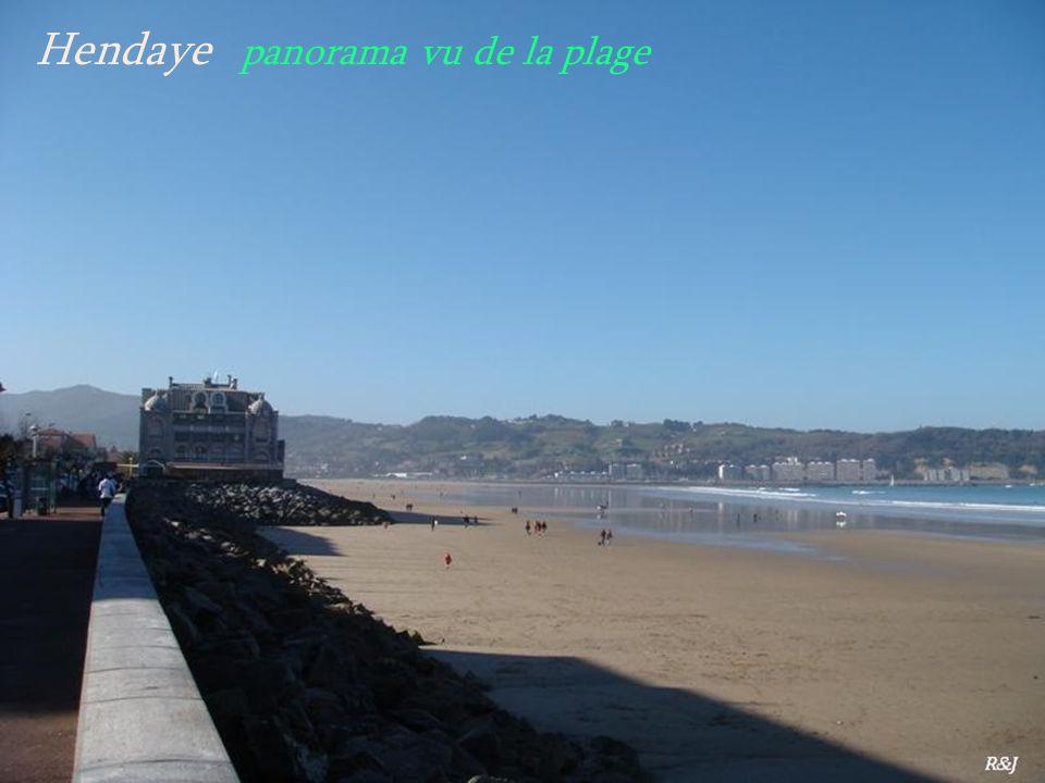 Hendaye. le port