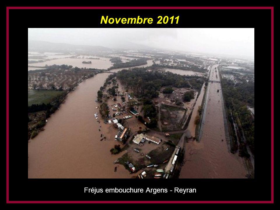 Novembre 2011 Fréjus embouchure Argens - Reyran