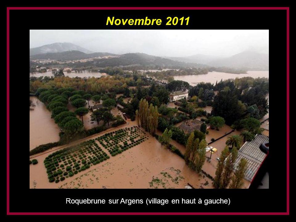 Novembre 2011 Roquebrune sur Argens (après le pont vers la Maurette)