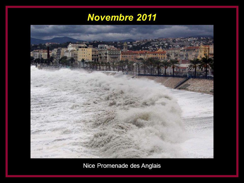 Novembre 2011 Nice Promenade des Anglais