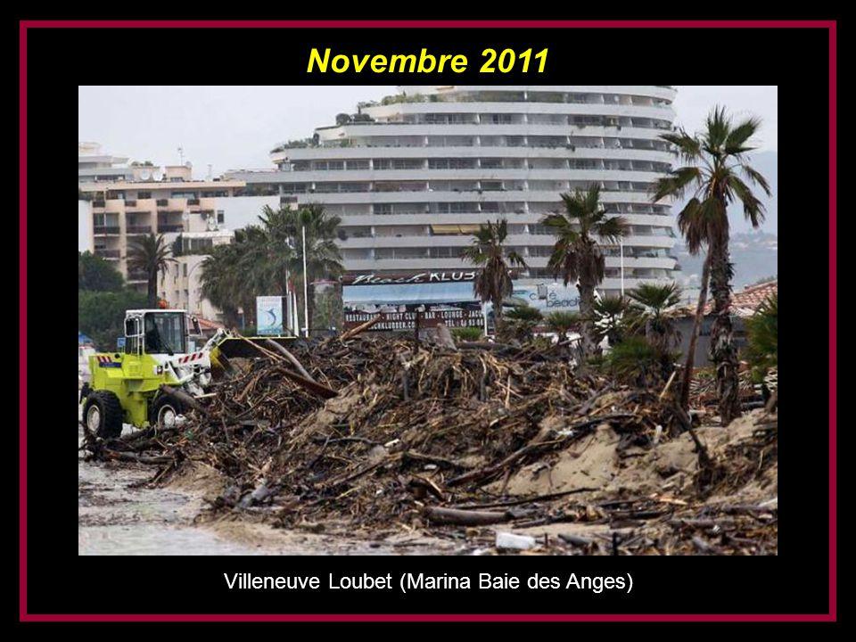 Novembre 2011 Villeneuve Loubet (Marina Baie des Anges)