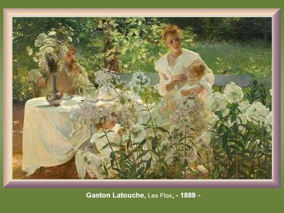 Marie Bracquemond, le goûter – 1880 -