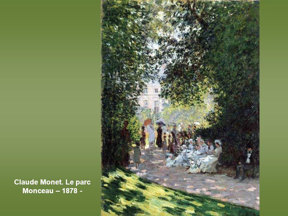 Camille Pissarro, Le jardin public de Pontoise – 1874 -