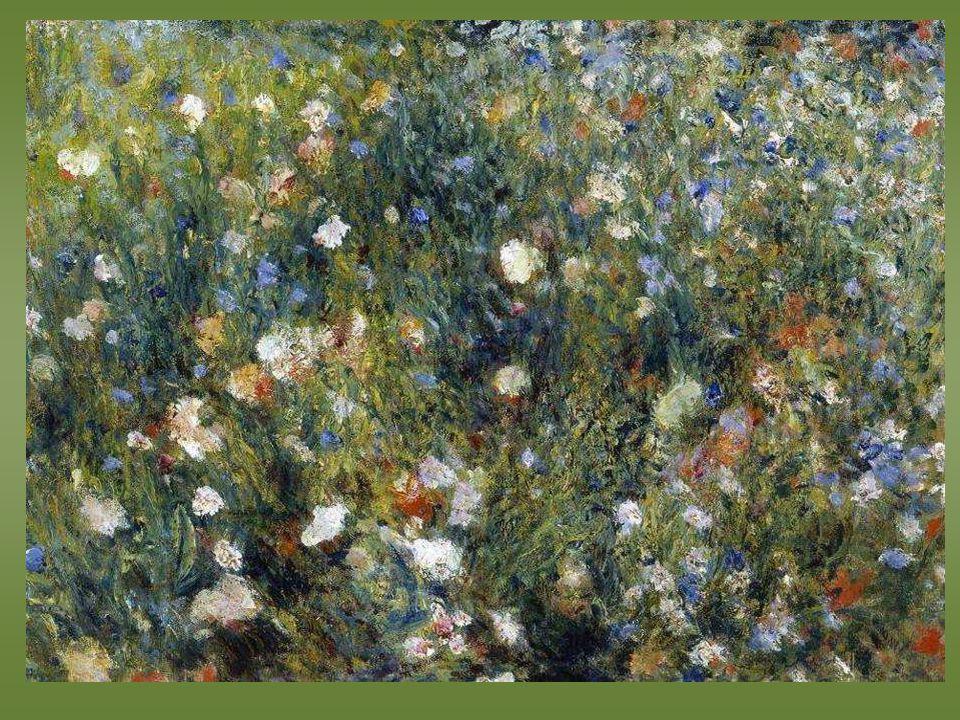 Renoir. Femme à lombrelle dans un jardin - 1876 -