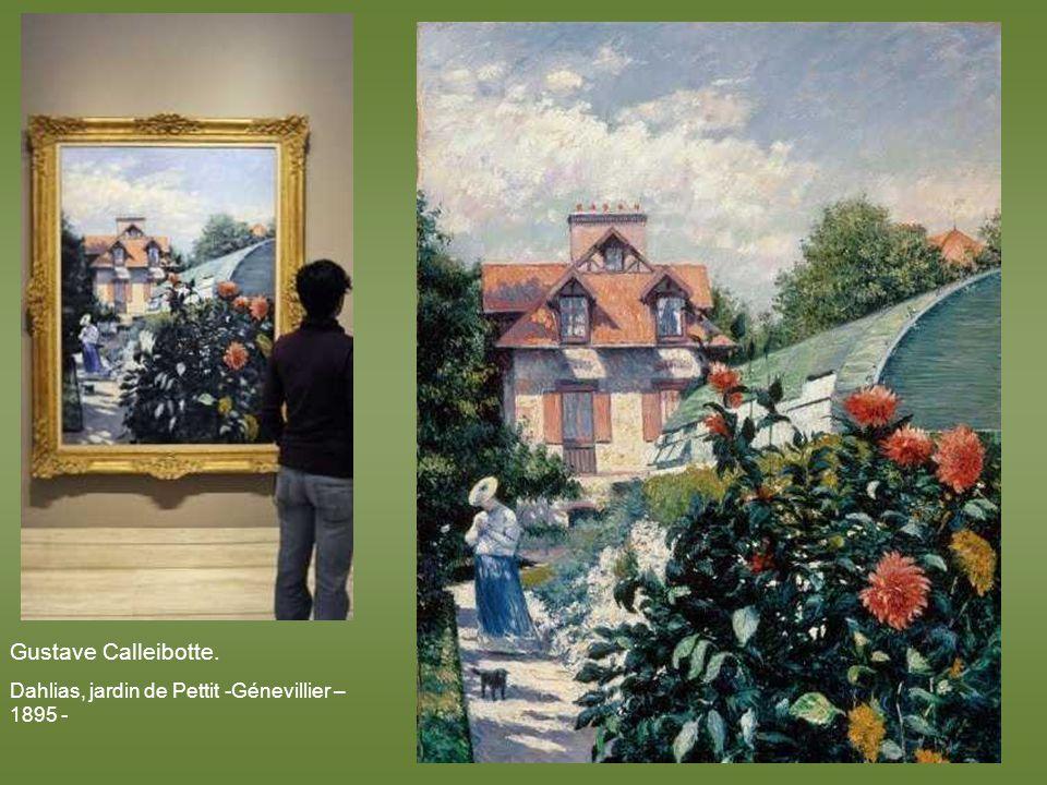 Paul Cezanne. Létang au Jas de Bouffan – 1874 -