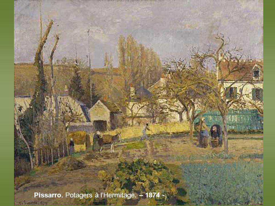 Pissarro. Le Jardin de lArtiste à Eragny – 1898 -