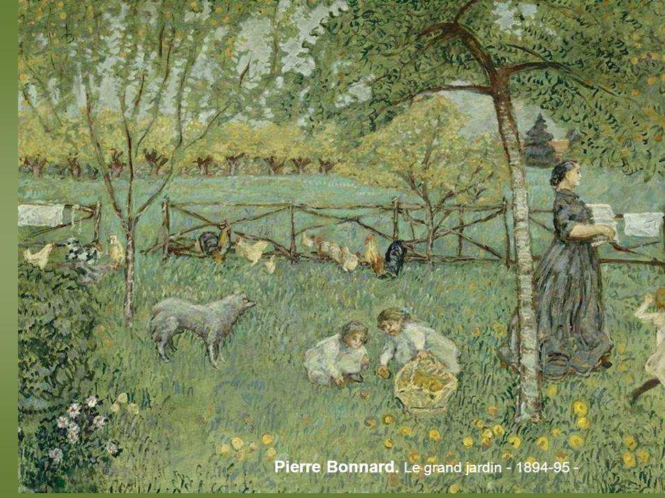 Cezanne. LHermitage à Pontoise – 1881 -