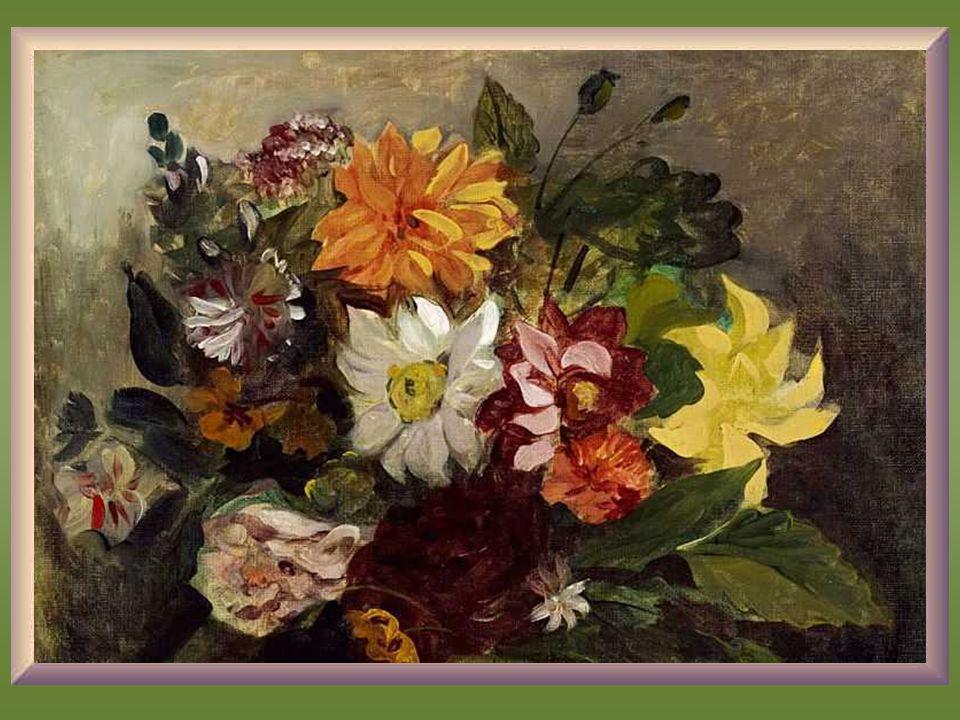 Delacroix, Pot de Fleurs - 1833 -