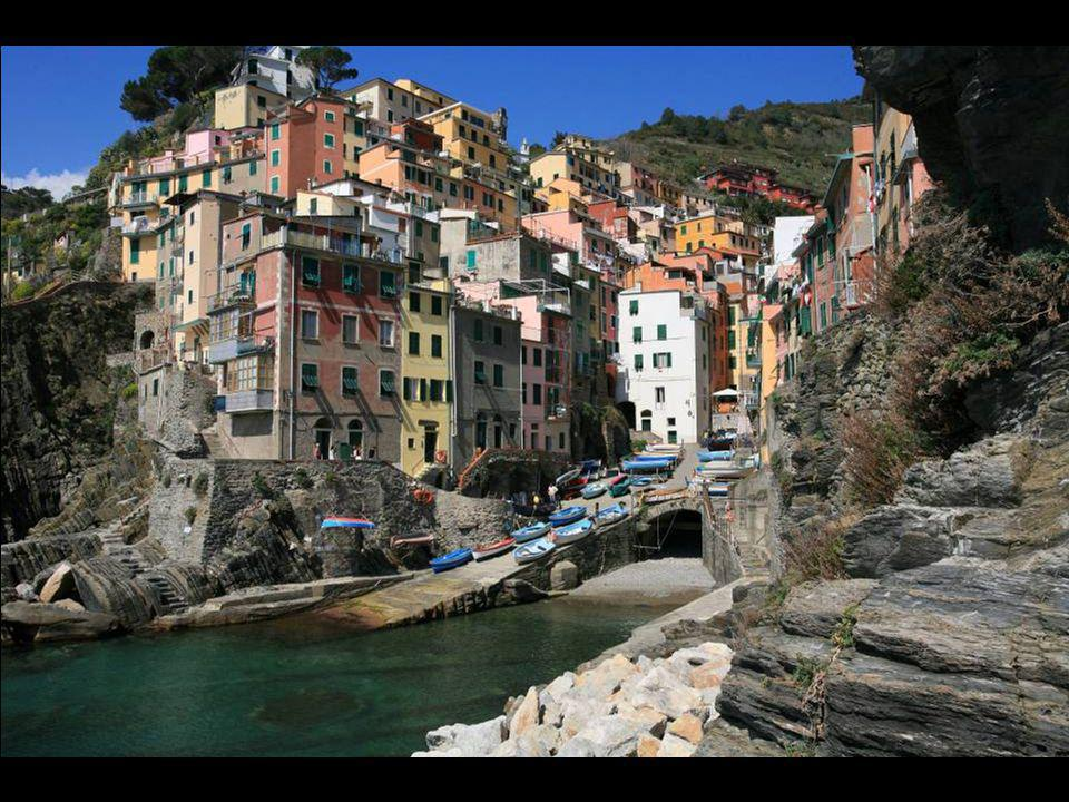 Cinque Terre: Le village de Riomaggiore.