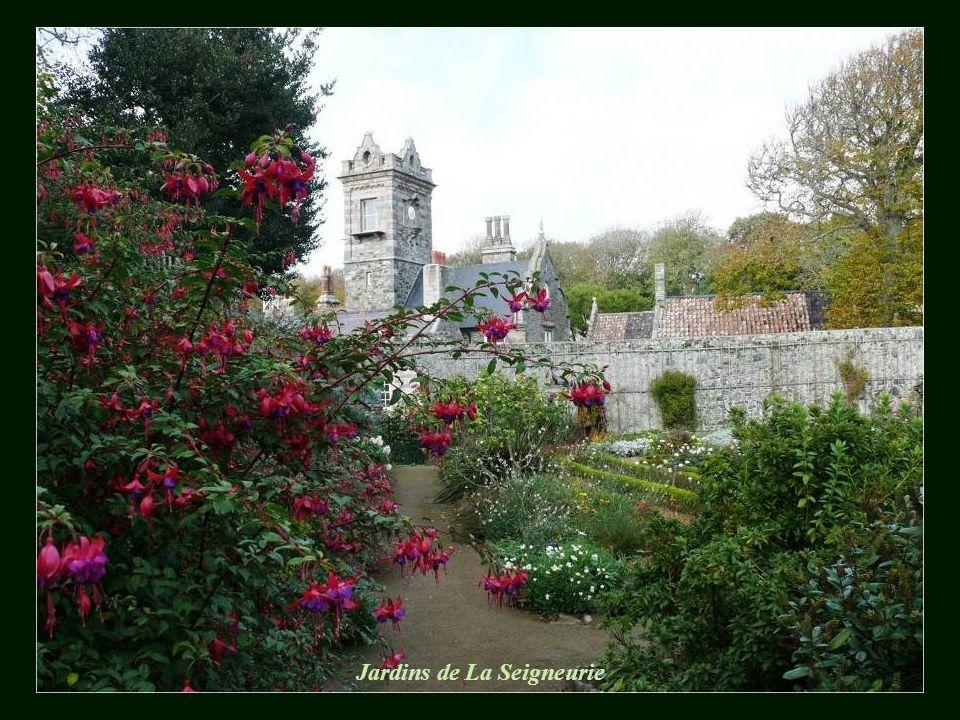 La Seigneurie, le chateau féodal de Sark