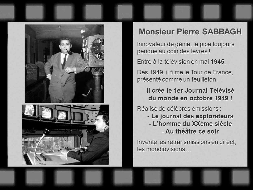 LES GRANDS JOURNALISTES ET PIONNIERS DU JOURNAL TÉLÉVISÉ