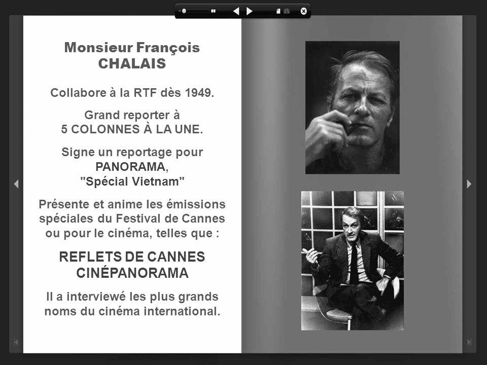 Monsieur Jean NOHAIN En 1952, il crée la toute première émission de variétés 36 CHANDELLES qui perdurera jusquen 1959. En présentant un nouveau talent