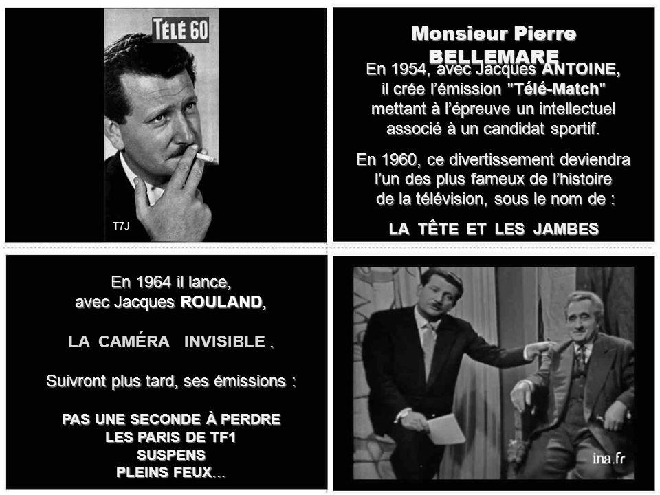 Monsieur Roger LANZAC Il sera de 1962 à 1976, le Monsieur LOYAL de la célèbre émission de Gilles MARGARITIS, diffusée le mercredi soir, LA PISTE AUX É