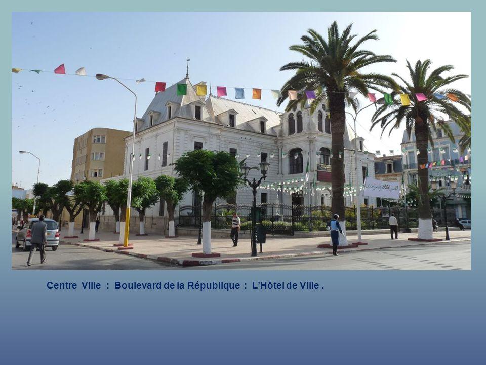 Centre Ville : Boulevard de la République : La Mosquée.