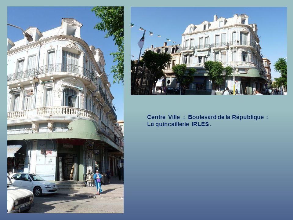 Centre Ville : Boulevard de la République : – Les Jardins de lHôtel de Ville.