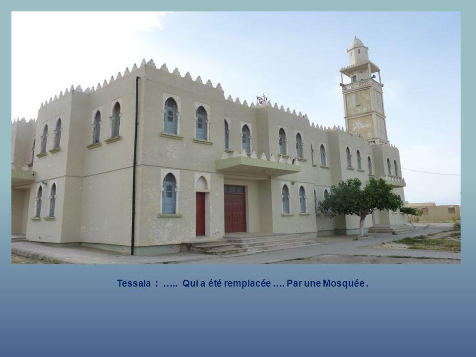 Tessala : lAncienne Eglise.