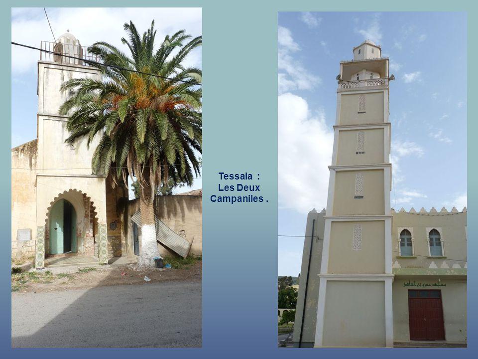 Tessala : ….. Qui a été remplacée …. Par une Mosquée.