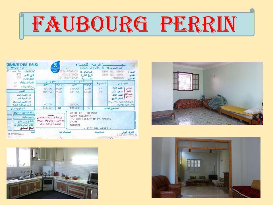 Faubourg Perrin : Avenue Kléber ma Maison.