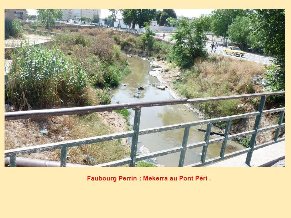Faubourg Perrin : Mekerra au Pont Péri.