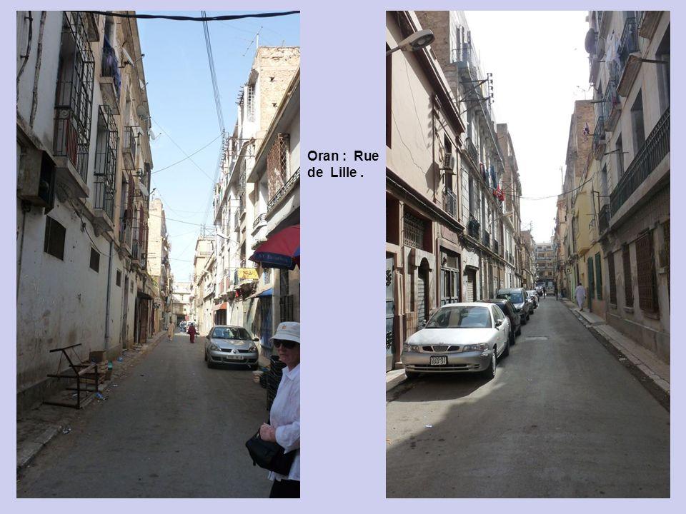 Oran : Rue Bastille.