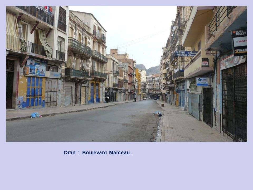 Oran : Rue Alsace Loraine.