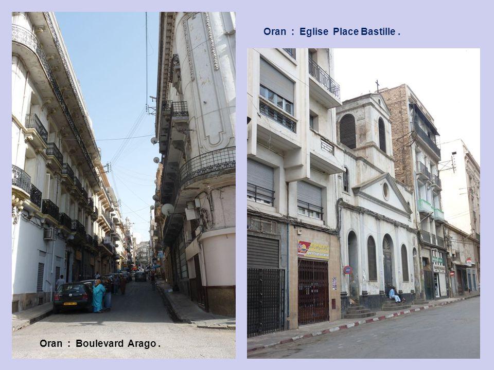 Oran : Boulevard Marceau.
