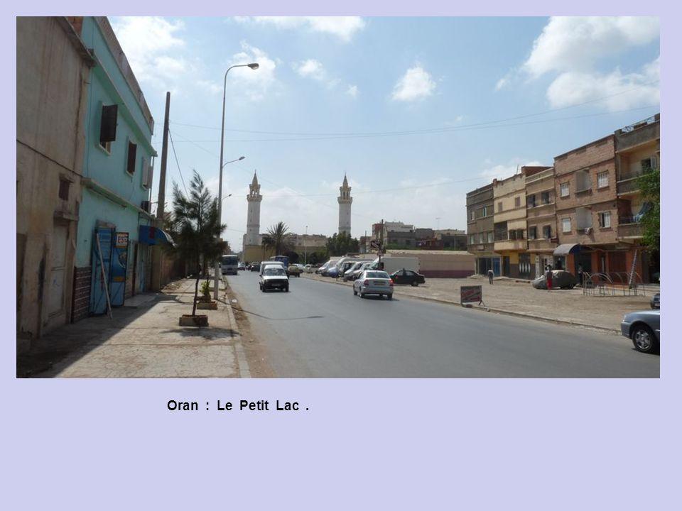 Oran : Boulevard Arago. Oran : Eglise Place Bastille.