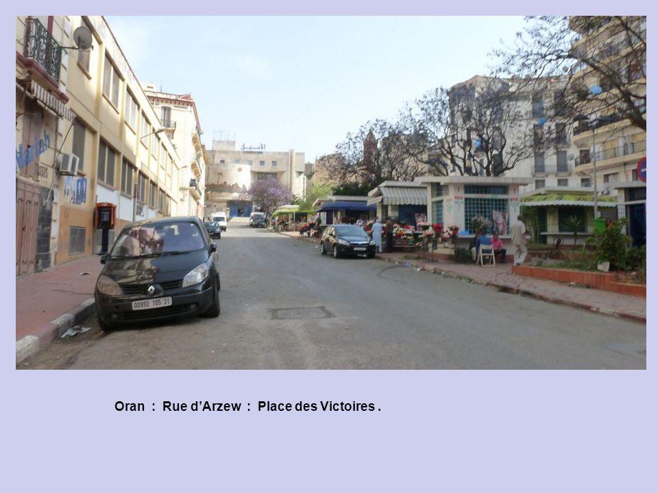 Oran : Rue dArzew : Nous Deux.
