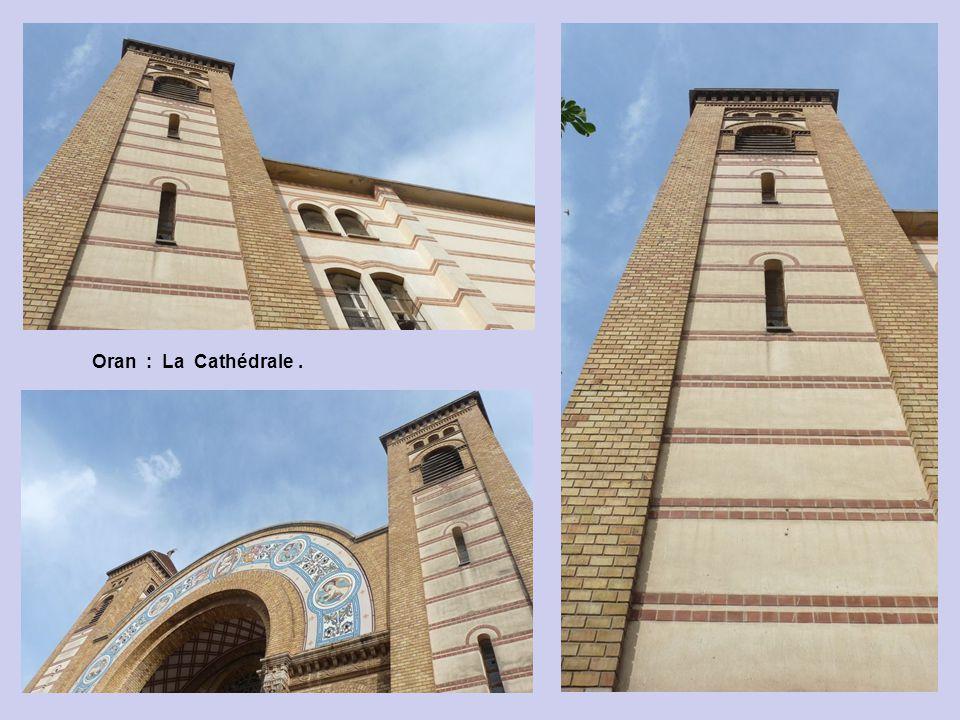 Oran : La Cathédrale du Square Garbé.
