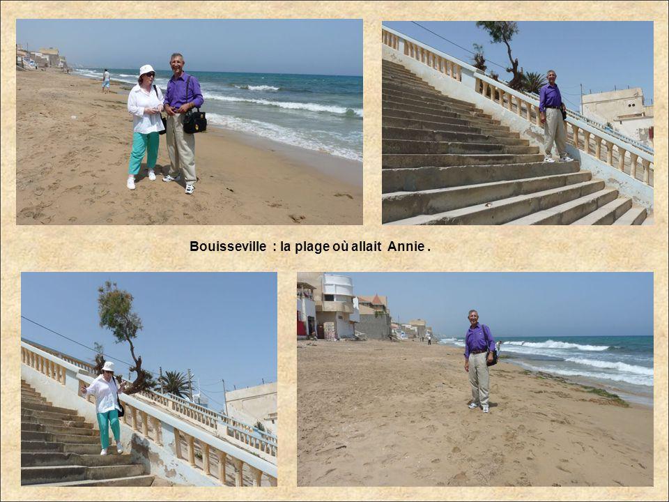 Bouisseville : la plage où allait Annie.
