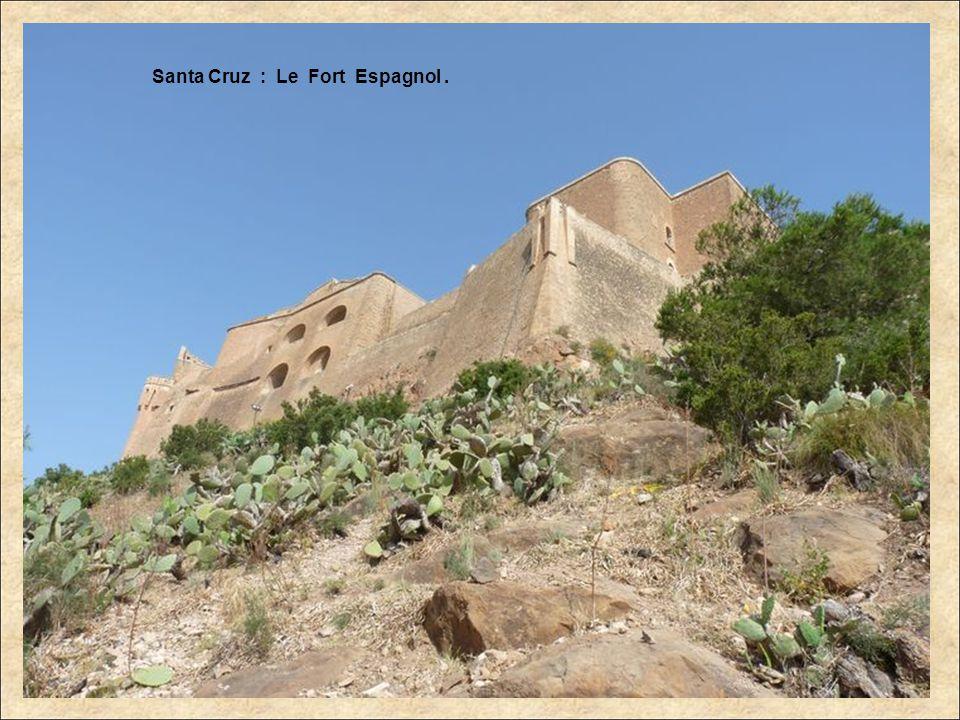 Santa Cruz : Le Fort Espagnol.