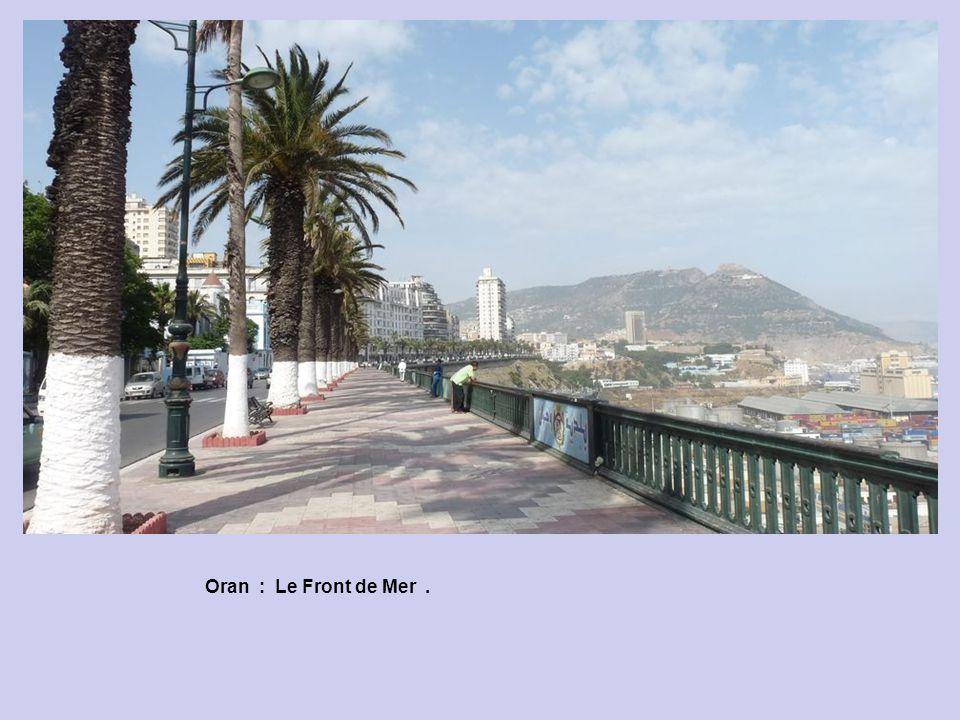 Oran : Du Front de Mer.