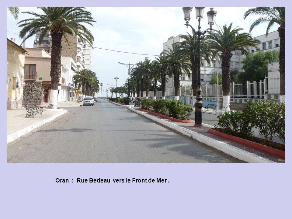 Oran : Le Front de Mer : lEGA.