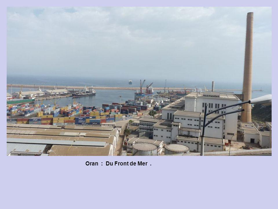 Oran : Le Front de Mer : Exposition Santé.