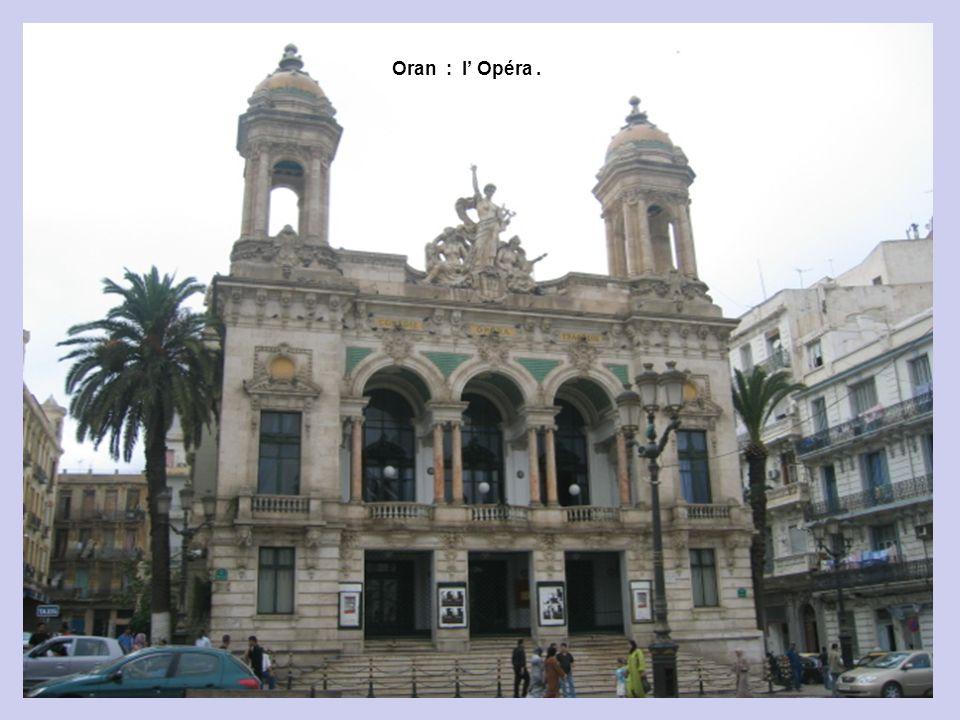 Oran : Théâtre de Verdure.